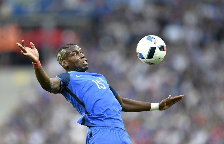 De Franse middenvelder Paul Pogba. Beeld AP