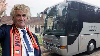 """Jean-Marie Pfaff (65) is nu ook buschauffeur: """"Mensen bellen me zelfs om naar een mosselfestijn te rijden. Natuurlijk wil ik dat doen"""""""