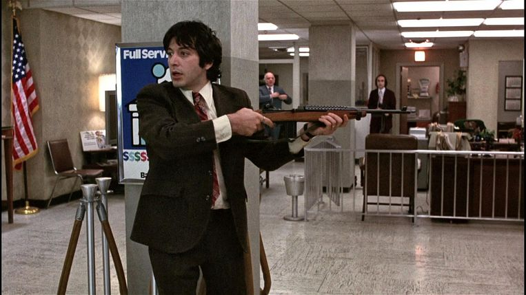 Al Pacino in 'Dog Day Afternoon' Beeld