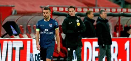 PEC-captain Van Polen voor twee duels geschorst na rood in jubileumduel