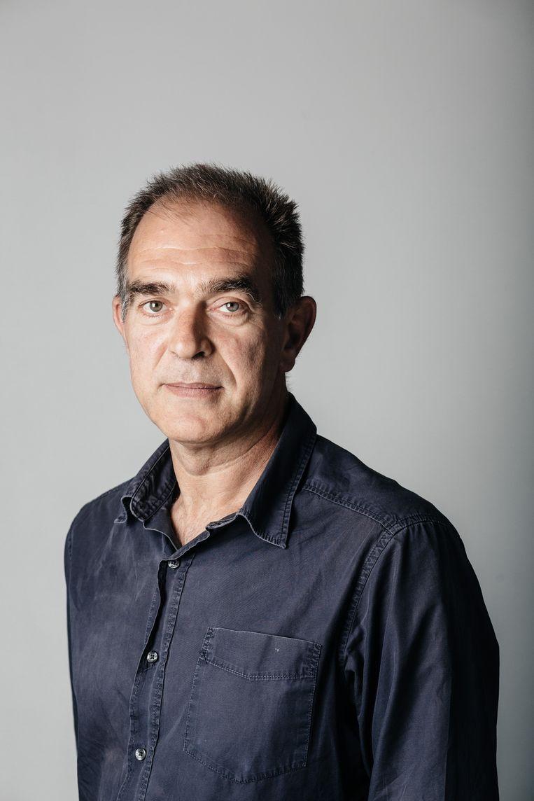 René Van Munster is chef eindredactie bijlagen De Morgen. Beeld Wouter Van Vooren