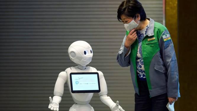 Deze robot praat tegen zichzelf om de relatie met mensen te verbeteren
