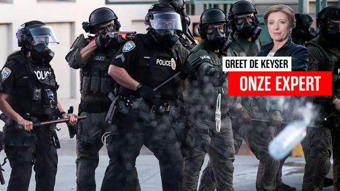 """""""De politie is hier niet je vriend"""", zegt onze correspondente Greet De Keyser."""