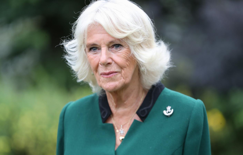Camilla, hertogin van Cornwall en sindskort Colonel-in-Chief