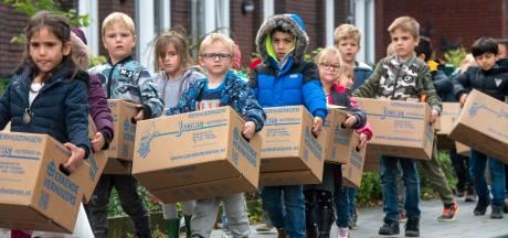 Renkumse kinderen 'op reis' naar nieuwe school