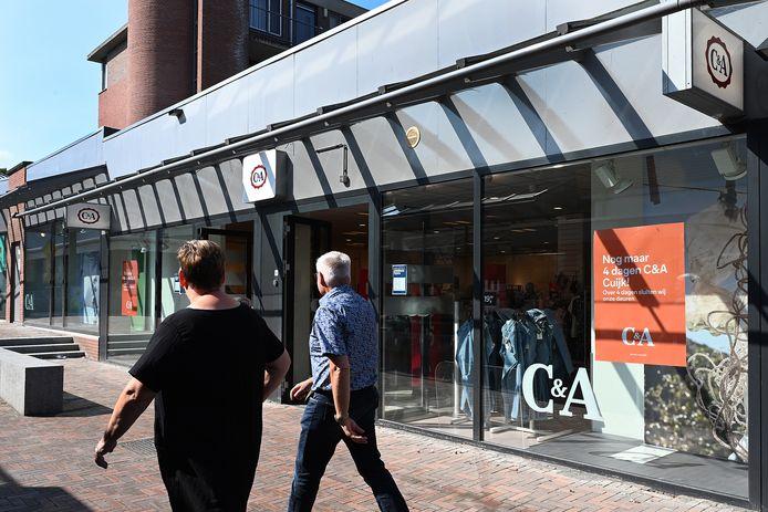 Nog maar 4 dagen voor de C&A in Cuijk.