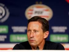 Roger Schmidt vindt dat PSV dit seizoen maar eenmaal ruim onder het vereiste niveau heeft gespeeld