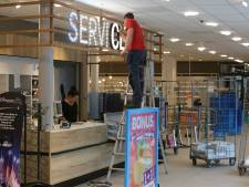 Bizar incident bij AH Keizerslanden: meiden steken in winkel aanmaakblokjes in fik
