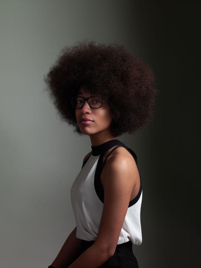 Luyi (Den Haag 2003) stond eind 2019 tot haar eigen verbazing in de finale van het Prinses Christina Jazz Concours. In april trad ze op bij Podium Witteman en als alles goed gaat, staat ze deze zomer op het Grachtenfestival (13-22 augustus). Beeld Koos Breukel