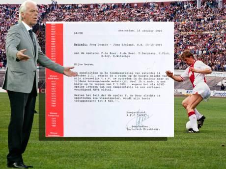 Ronald de Boer maakt brief openbaar: Ajax gaf Bergkamp en De Boertjes boete na wanprestatie