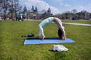 Yoga in openlucht: een aanrader.