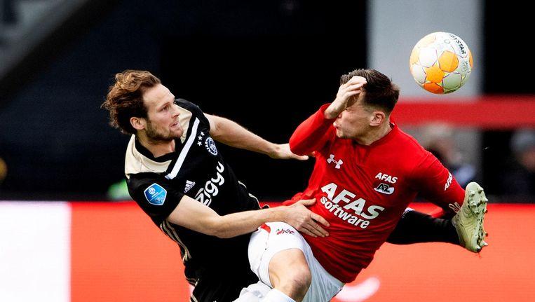 Blind in duel met Seuntjens Beeld anp