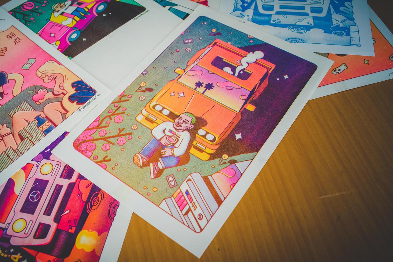Enkele ontwerpen van Rhymezlikedimez.