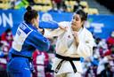 Guusje Steenhuis veroverde onlangs zilver op het EK in Lissabon. Ze versloeg onder meer Marhinde Verkerk, haar grote concurrente in de strijd om een ticket voor Tokio.