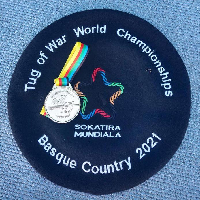 De Pull Bulls gingen naar huis met een blinkende gouden medaille en een Baskische pet.