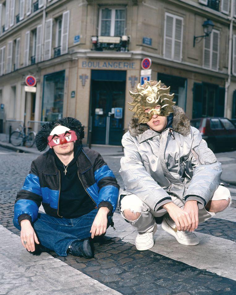 Daft Punk in 2001. Beeld Redferns