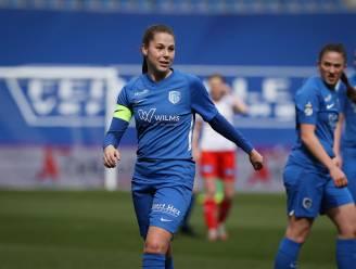 """Jarige Sien Vandersanden (KRC Genk Ladies): """"In de vier opeenvolgende thuiswedstrijden moeten we een kloof met onze tegenstanders slaan"""""""
