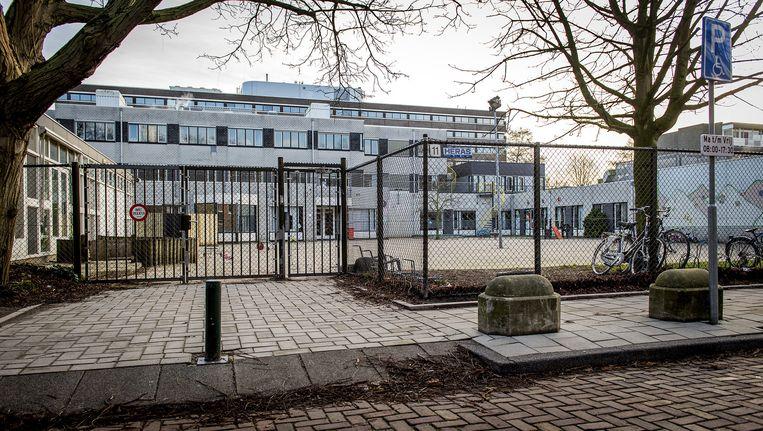 Het gebouw van de Amsterdamse orthodox-joodse school Cheider. Beeld anp