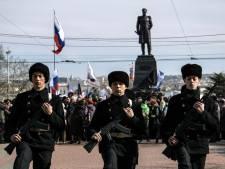 """La Crimée célèbre son """"retour"""" en Russie"""