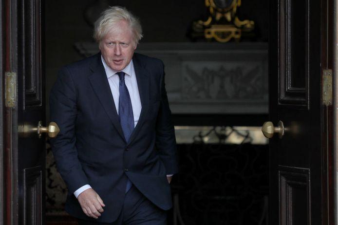 De pro-Britse paramilitairen stuurden aan brief aan premier Boris Johnson.