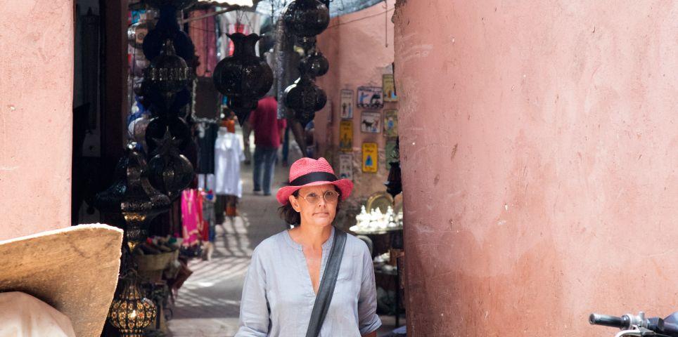 fotoreeks over Dar Kawa: baken van rust in de rode stad Marrakech