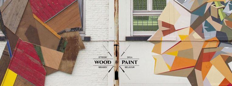 'Wood & Paint' van Strook in Brugge. Beeld © Strook