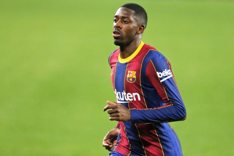 Ousmane Dembele: voor véél te veel geld gekocht van Borussia Dortmund Beeld Photo News