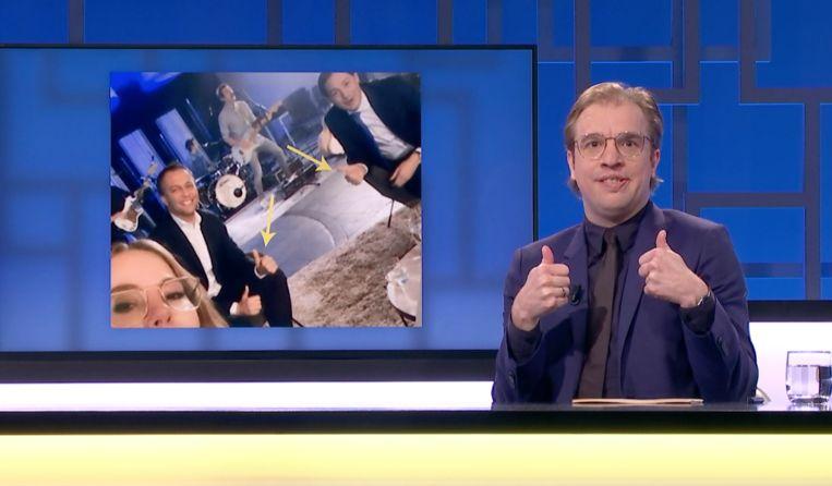 Nieuwjaarsreceptie Open VLD Beeld Woenstijnvis