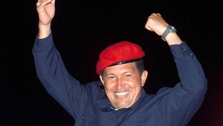 Hugo Chávez in 2000 Beeld afp