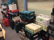 Politie ontvangt bijna 1500 e-mails over gestolen gereedschap