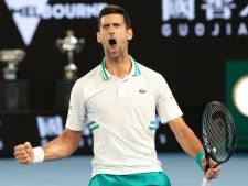Djokovic s'offre une 9e finale à Melbourne, le conte de fée Karatsev s'achève