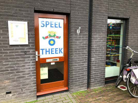De speel-o-theek aan de Flevostraat in Amersfoort