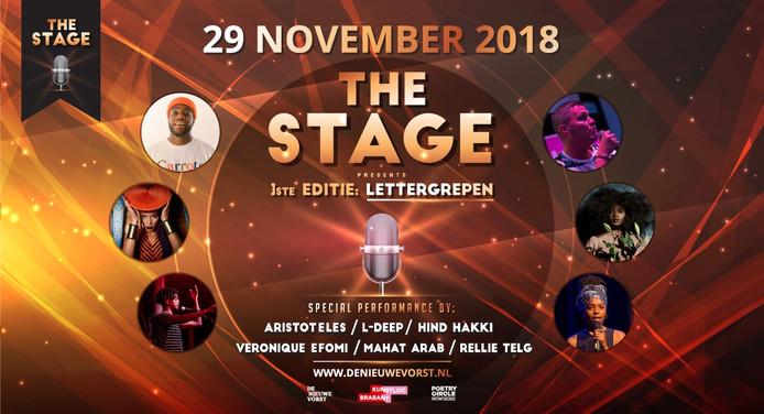 The Stage evenement stadsdichter de nieuwe vorst