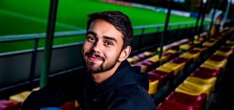 Na zware privéperiode hervindt voetbaltalent Délano Grootenhuis (23) het geluk: 'Ik ben vol voor mijn moeder gegaan'