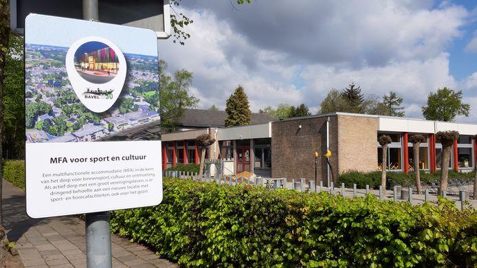 Als het aan Bavel ligt krijgt het dorp een nieuwe multifunctionele accommodatie in het hart van het dorp, daar waar nu nog basisschool De Spindel staat en voormalige woonvoorziening Weideveld.