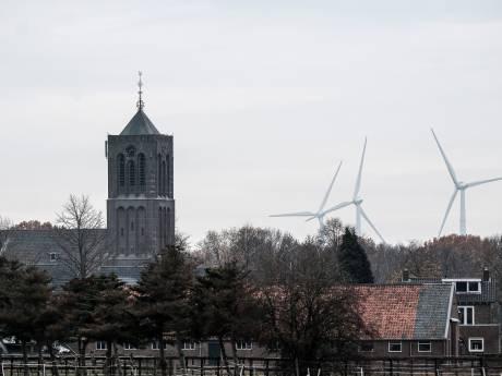 Concentratie windmolens bij Azewijn en Netterden