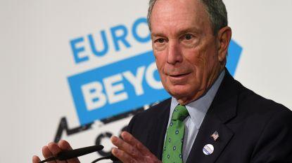 Stapt hij in de presidentsrace? Miljardair Bloomberg koopt voor recordbedrag aan televisiereclame