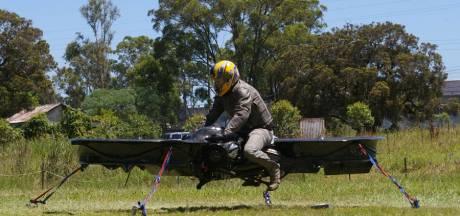 L'Hoverbike, la moto volante du futur