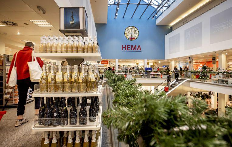 Kerstartikelen in een Hema-filiaal. Beeld ANP