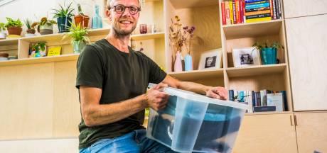 Te veel spullen in huis? Professioneel opruimer Lucas (48) biedt hulp: 'Ik ben nogal fanatiek'