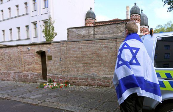 In Halle kwamen gisteren twee personen om het leven bij een aanslag op een synagoge.