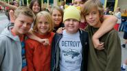 """Kankerpatiëntje Julien Boogmans (11) is boegbeeld voor Rode Neuzen Dag in basisschool De Leertuin: """"Toen ik mijn haar verloor, heeft iedereen hier een muts gemaakt, zo voelde ik mij niet zo alleen"""""""