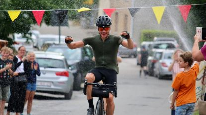 Jo slaagt in rit rond België: 1.240 kilometer en 42 uur op de fiets
