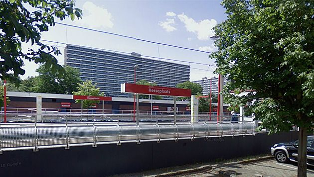 Metrostation Hesseplaats.