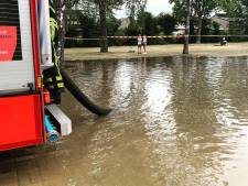 Wateroverlast in Goirle door gesprongen waterleiding, 34 huizen zonder water
