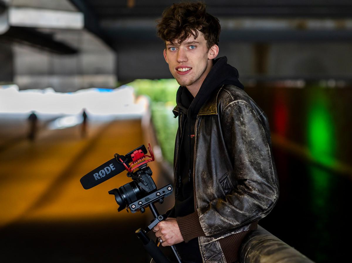 Jasper Smale (19) , filmmaker.