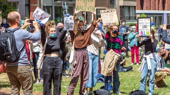 Belgian Youth against Racism hekelt politiegeweld in België na uitspraak in proces George Floyd