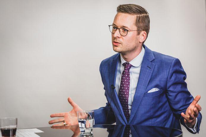 Kortrijks federaal parlementair Wouter Vermeersch (Vlaams Belang).