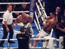 Britse media hard voor Joshua: 'Pijnlijkste is dat zijn gevecht van 200 miljoen pond met Fury in rook is opgegaan'
