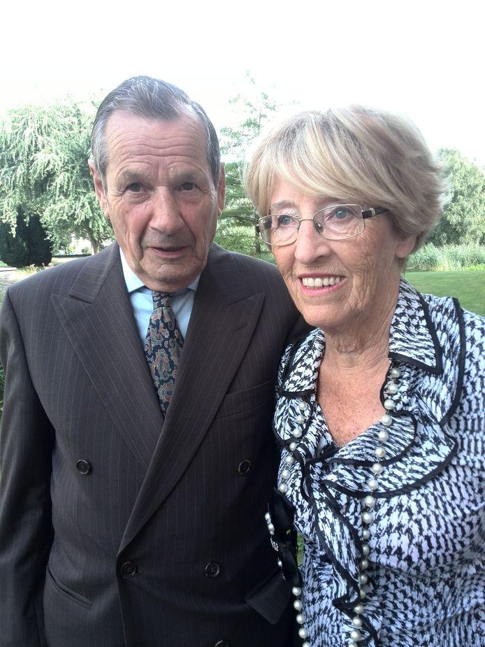 Antoon en Netty Eliëns -Paulussen zijn zestig jaar getrouwd.